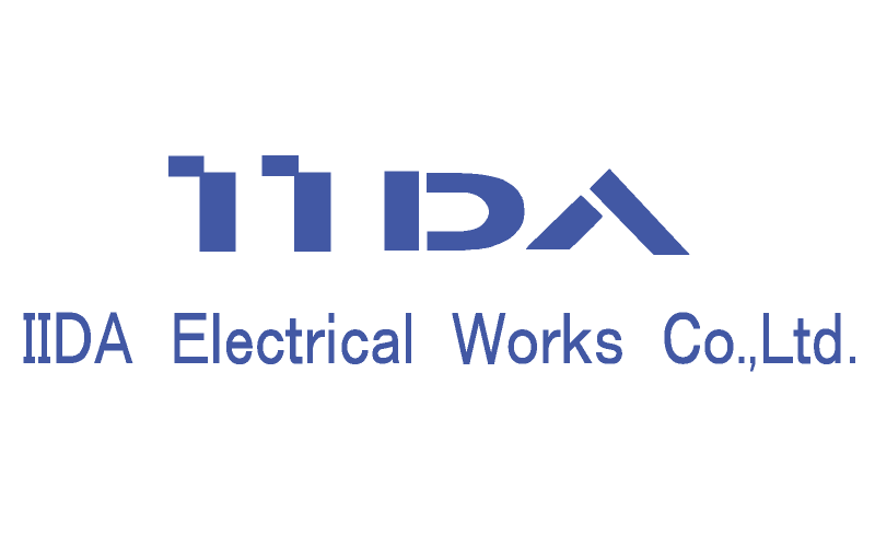 飯田電機工業ロゴ